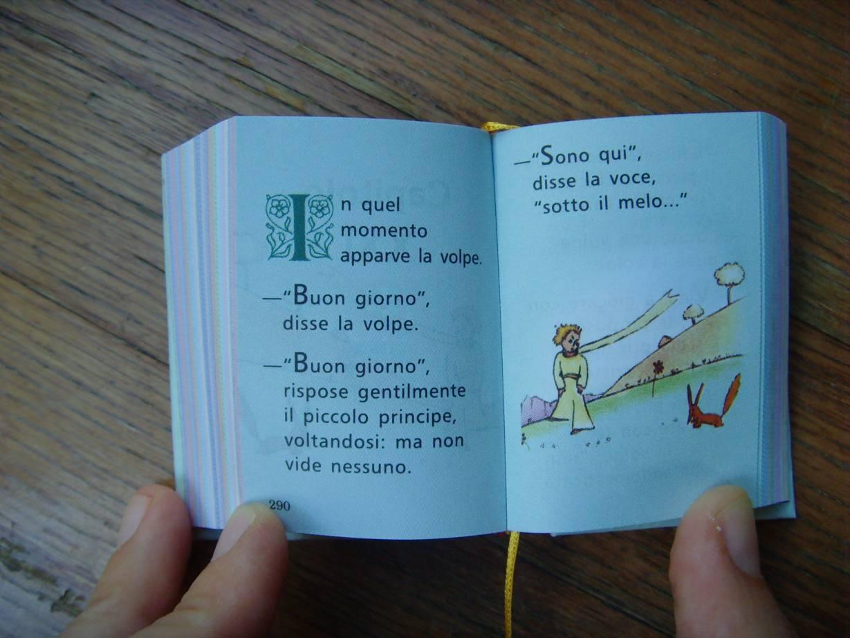 frasi piccolo principe in francese ForPiccolo In Francese