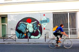 Sunday Street Art : Retro - rue de Belleville - Paris 20