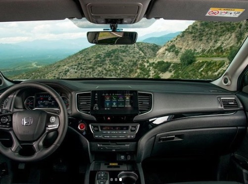 Interior Honda Pilot