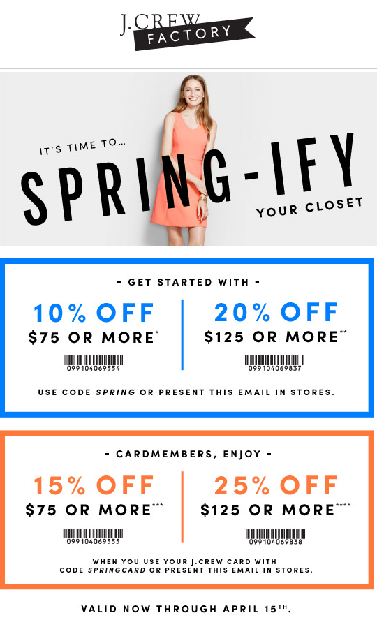 picture about J Crew Factory Printable Coupons titled J staff outlet discount codes 2018 : Rushmore on line casino coupon codes no