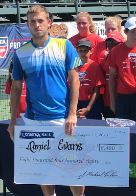 Top seed Evans to face Stanford star in 100K Aptos