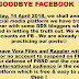 Miriam's Sister Say's Goodbye to Facebook After they Partner with Rappler & Vera Files