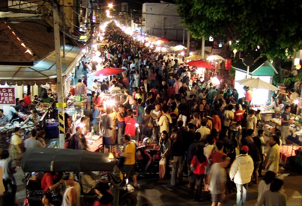The most important tourist areas in Thailand