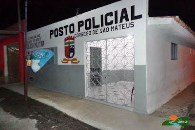 Posto policial reformado