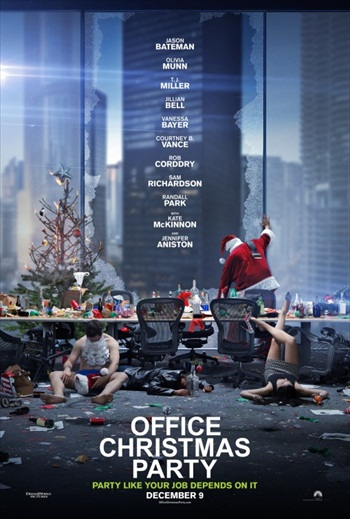 Office Christmas Party 2016 English Movie Download