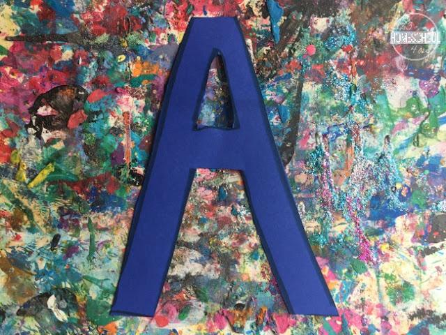 cut out a letter a