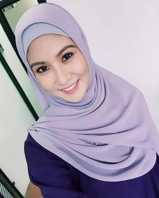 Elizabeth Tan Pakai Tudung kerana drama senafas rindu