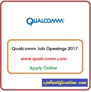 Qualcomm Hriring Freshers Software Developer & Testing Jobs in Hyderabad/Chennai Apply Online