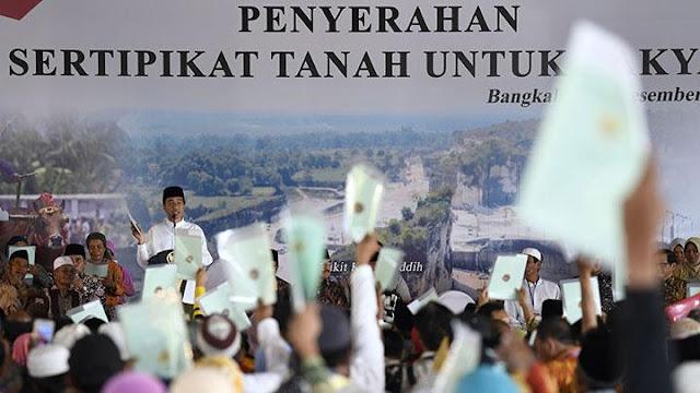 Sertifikat Gratis dari Jokowi, Pak RT: Uang Lelah Rp 3 Juta