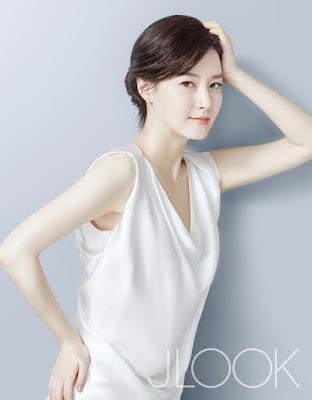 Lee Young Ae - J Look Magazine February 2016