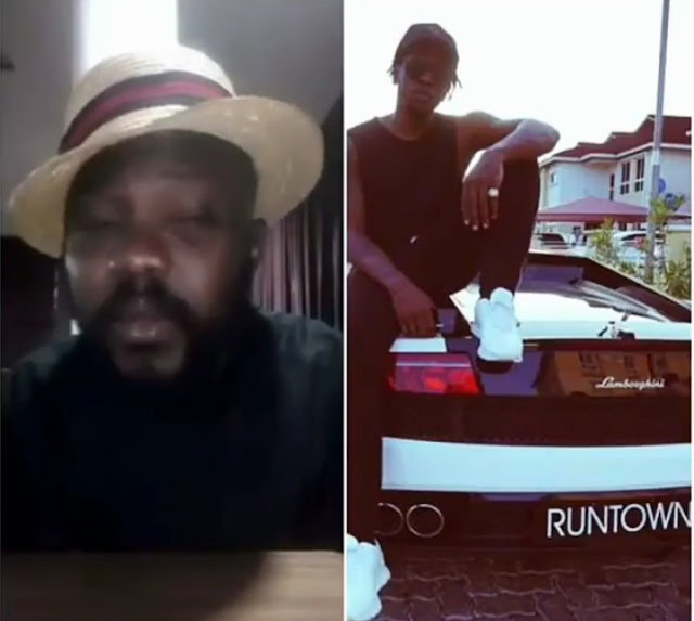 Ecricmanny's GM, Johnson Adumike, Reveals That Runtown Lied Over Victory Against EricManny.
