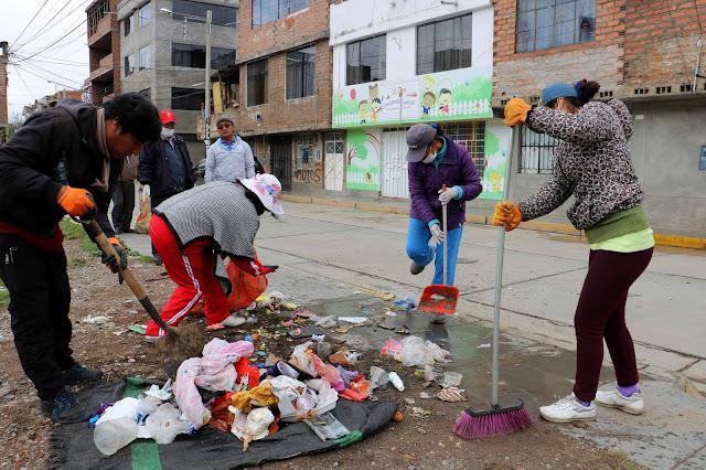 Municipalidad distrital de El Tambo amplia rutas de recojo de basura