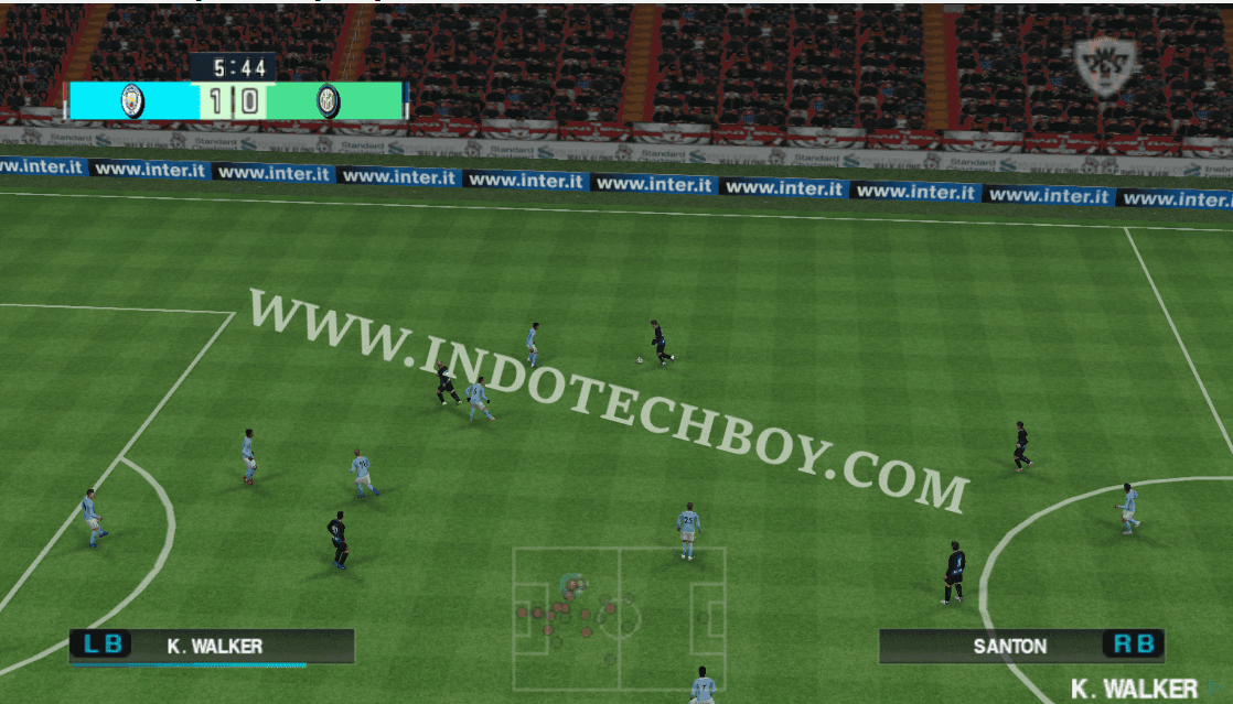 Extra Wide (Far) Camera Angle Mod for PES 2018 Chelito 19 v4