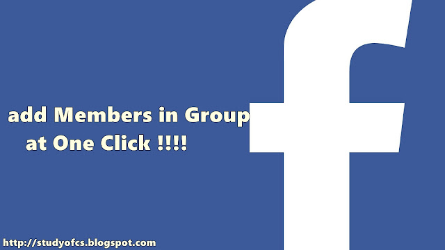 Adding members in group with one Click