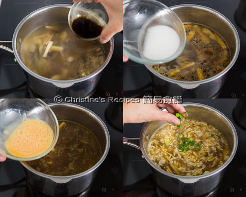 Vegetarian Hot and Sour Soup Procedures02