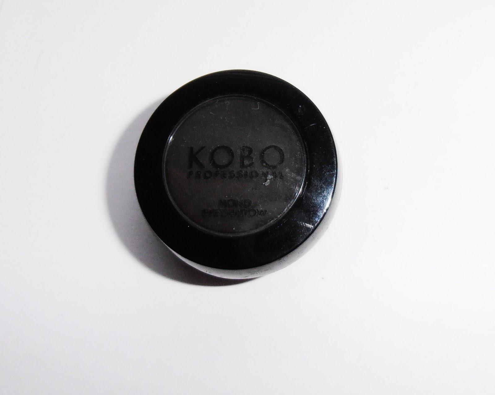 Poważne Kosmetycznie u Lissy: Kobo - cień do powiek Deep Black XN88