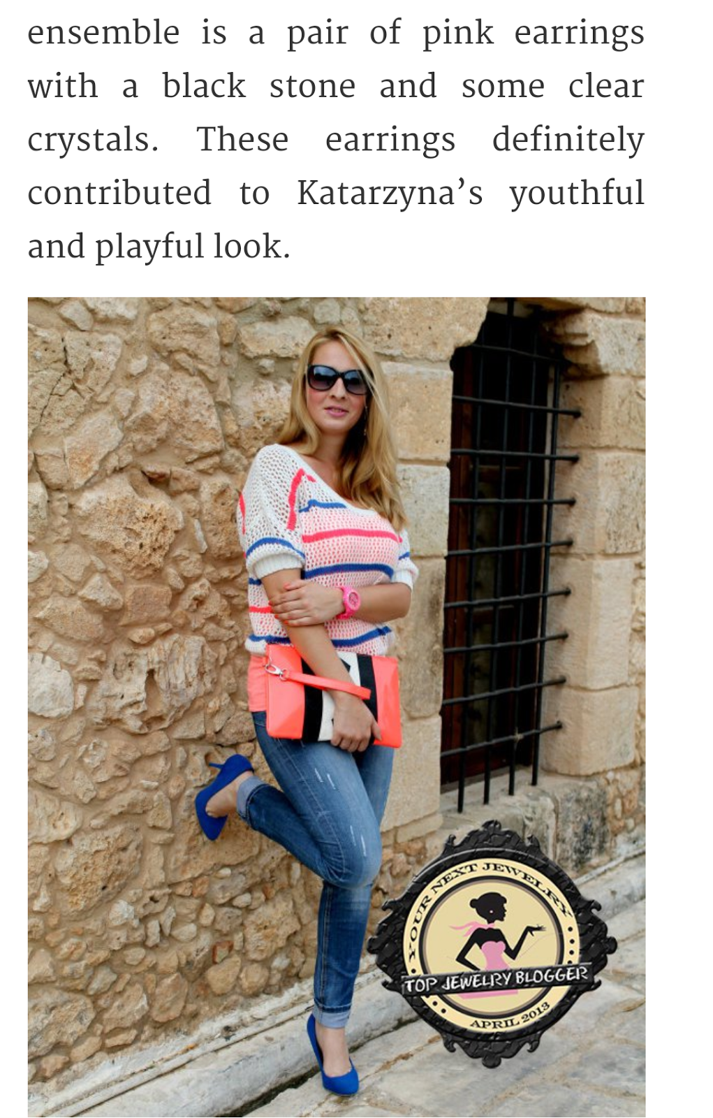 MEDIA ABOUT ME - Top 10 jewelry bloggers 2013