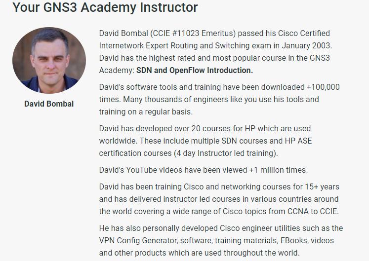 Café com Redes: GNS3 Certified Associate official course