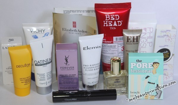 Feelunique Holiday 2014 Beauty Bag review, beauty box deals