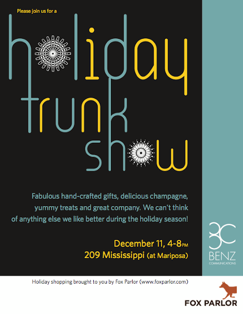 Fox Parlor Trunk Show