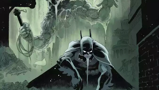 Batman And Swamp Thing Teams Up To Fight Crime In Batman #23.