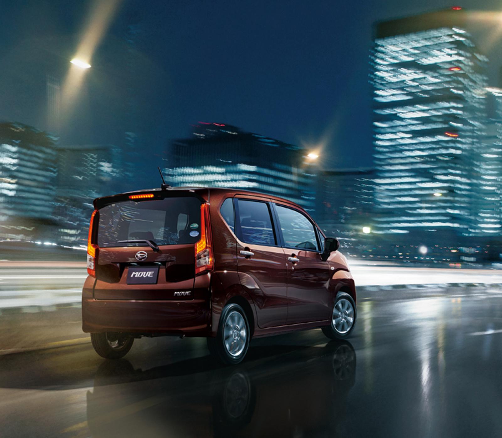 Daihatsu: Daihatsu Updates The Move, Its Tiny Tall JDM Wagon