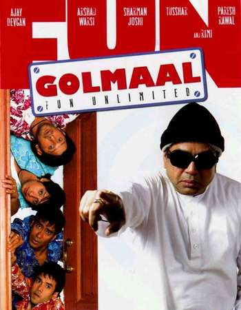 Golmaal Fun Unlimited 2006 Hindi 720p DVDRip ESubs