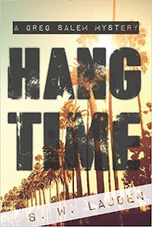 https://www.amazon.com/Hang-Time-Greg-Salem-Mystery/dp/194557271X/ref=sr_1_1?ie=UTF8&qid=1514576352&sr=8-1&keywords=hang+time+s.w.+lauden