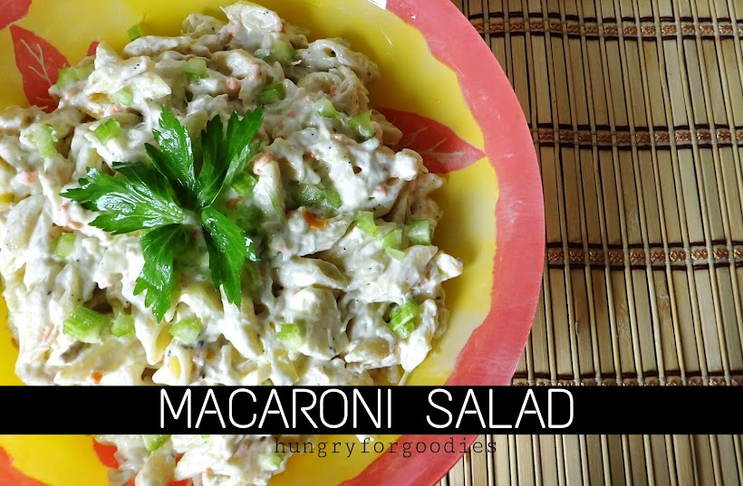 Filipino Chicken Macaroni Salad Recipe Hungry For Goodies