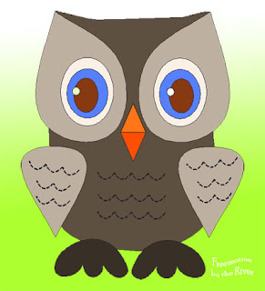 Hooty Owl drawn in Electric Quilt 7