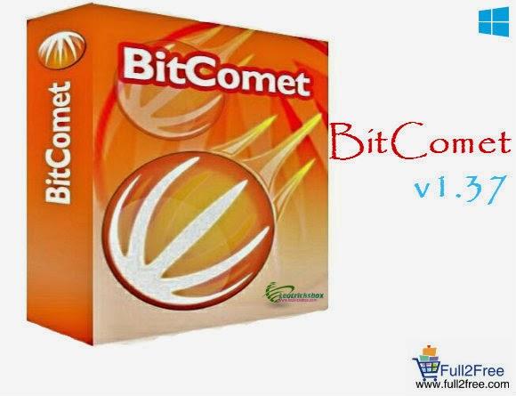 BitComet v1.37 x86 / x64 – File Sharing Software