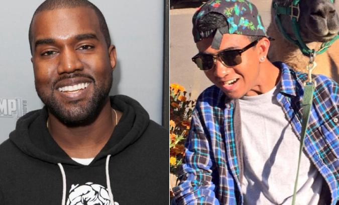 Kanye West fan paralitico