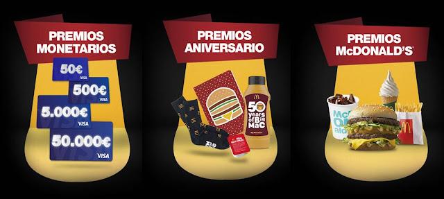 Regalos McDonalds Big Mac