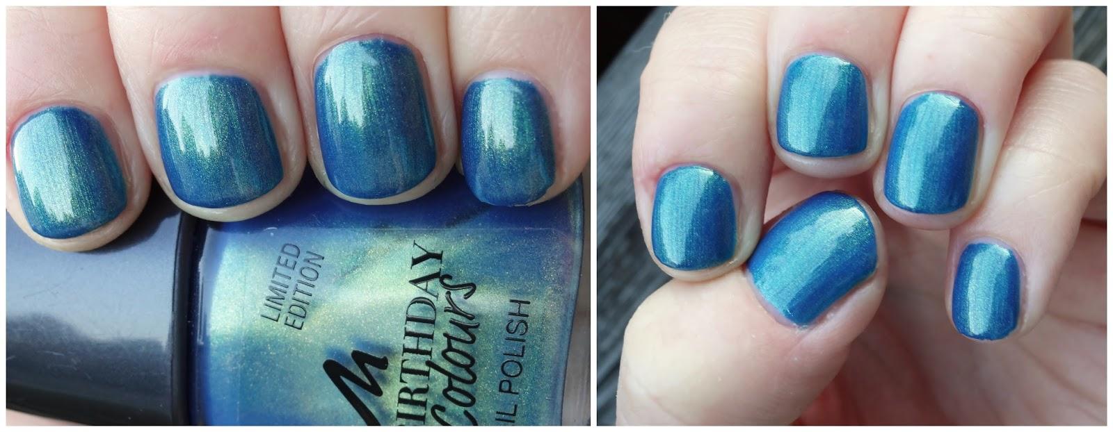 Pretty Clover Beautyblog Nagellack blau blue