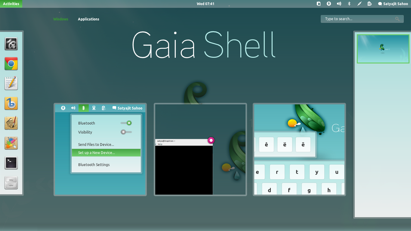 New GTK3 and Gnome Shell Themes (Elementary Dark, Orion, Gaia