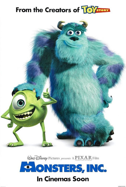 Monsters Inc 2001 720p Hindi BRRip Dual Audio Full Movie Download extramovies.in Monsters, Inc. 2001