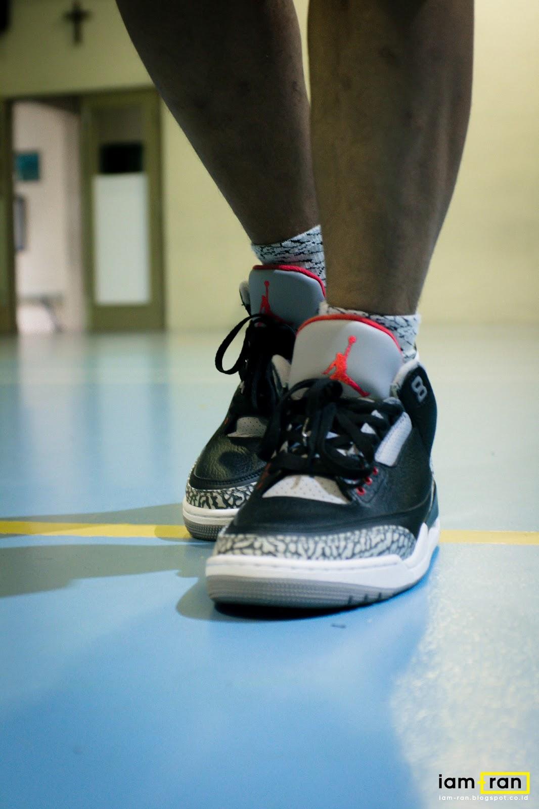 0858fa2286d IAM-RAN: ON FEET : Rhyme_on - Nike Air Jordan 3