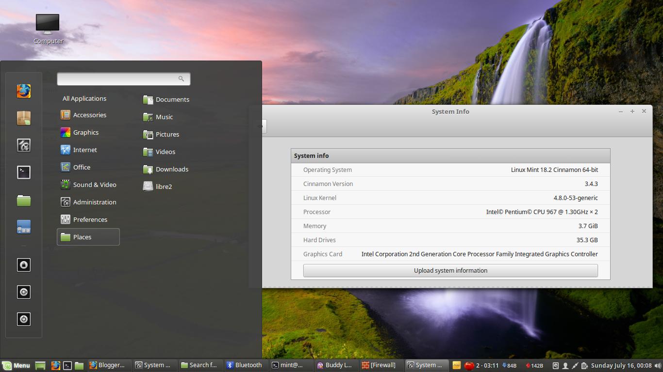 "Una breve reseña de Linux Mint 18.2 ""Sonya"" Cinnamon LTS"