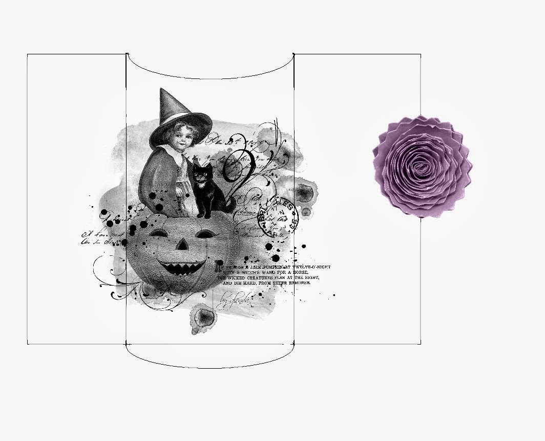 Glenda's Halloween Shop: Money or Gift Certificate Envelope
