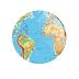 Mapa Mundi (Diversos) - Botton (#DVR003) - 3,8 cm