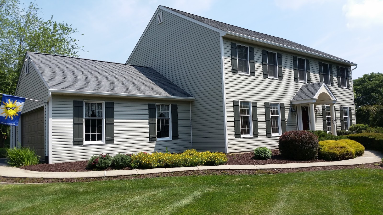 Jp construction services for Colored siding