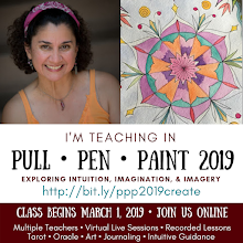 I'm teaching in PULL PEN PAINT!