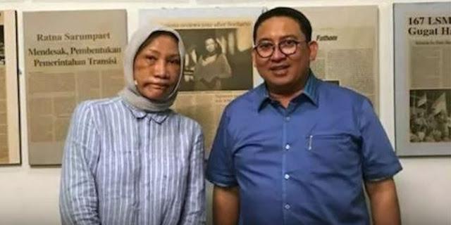 Ratna Sarumpaet Dijengguk Wakil Ketua Umum DPR Fadli Zon Politikus Partai Gerindra Terhadap Kasus Ratna Sarumpaet Dianiaya