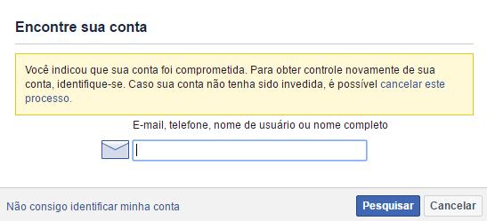 Como recuperar sua conta hackeada do facebook