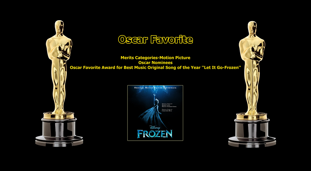 oscar favorite best music original song award let it go frozen