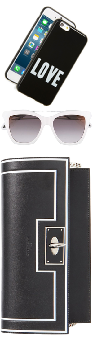 Givenchy Assorted Accessories-Handbag, Sunglasses, and iPhone Case
