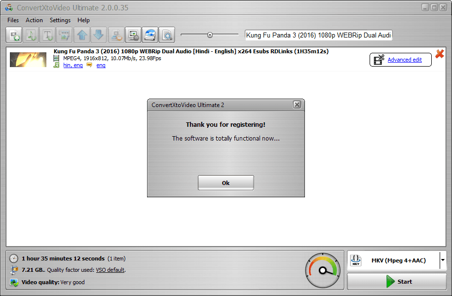 VSO Video Converter v2.0.0.35 Final + Patch