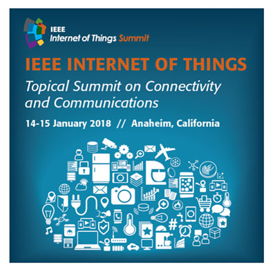 Resident Astronomer attends IEEE Internet of Things in Anaheim, January 14-15