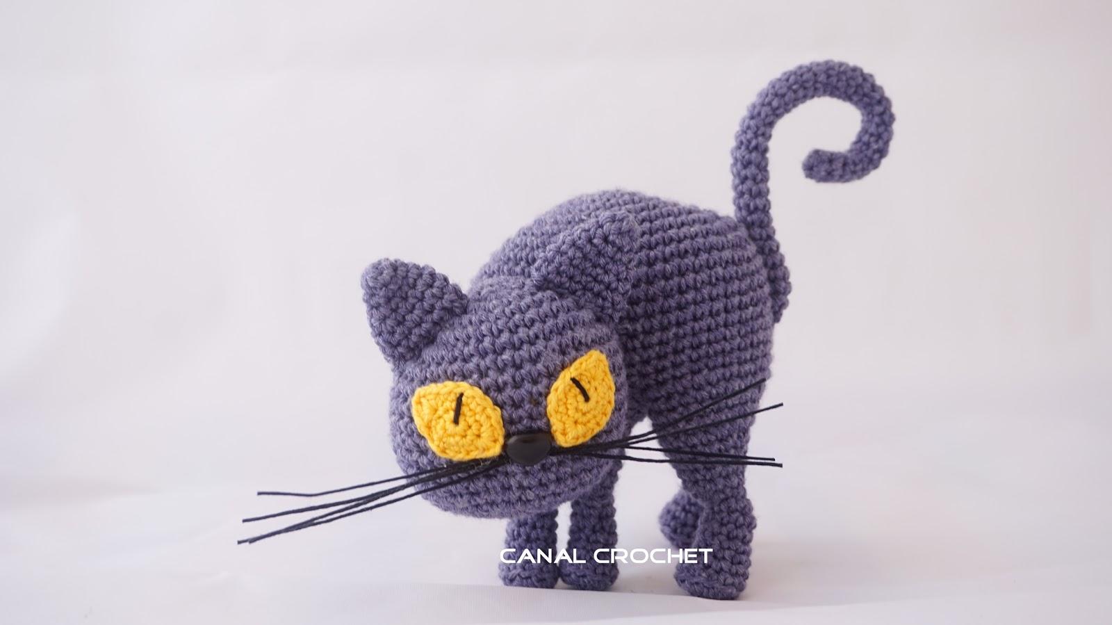 CANAL CROCHET: Gato amigurumi tutorial