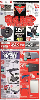 Canadian tire Big Red Weekend Thu Sep 7 – Sun Sep 10